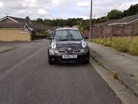 Nissan Micra 1.2 Visia, 3dr, Black, 57000 miles, One Lady Owner. 12 months MOT, HPIclear.
