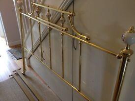 Brass Bed Frame Surround - Kingsize - £50.00 ono