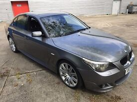 2007 BMW 530D M SPORT GREY LCI FACELIFT BIG SPEC STAGE 2 REMAP SPIDERS PRO NAV DPF DELETE AND DECAT,