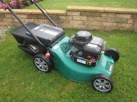 Qualcast XSS41C Petrol Lawn Mower With Fully Serviced Briggs& Stratton 450 Engine 41cm Cutting Width