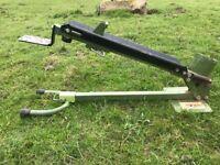 Eckman manual foot operated log splitter