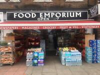 24 HOUR OFF LICENSE + GROCERY SHOP LEASE FOR SALE IN EAST FINCHLEY