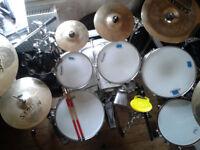 Sabian cymbals + Hardcase