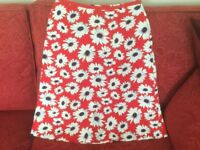 A ladies floral skirt size 10 by Laura Ashley