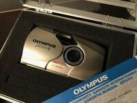 Olympus MJU II 35mm Compact Camera, Boxed & Film Tested