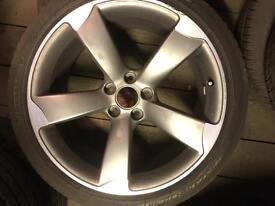 Audi OEM 19inch 9 J Rotor Alloy wheel