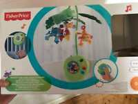 Fisher price Rainforest Peek a boo leaves musical mobile
