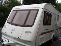 Compass Corona Two Berth Touring Caravan With Full Awning