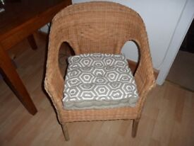 Wicker cane Chair Fairly New