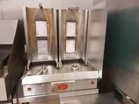 Twin Doner kebab machine