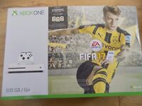 xbox one s 500gb console brand new with fifa 17 look
