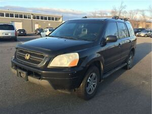 2004 Honda Pilot EXL  with leather& sunroof