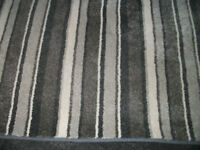 Grey Striped Rug 210cm x 210cm used for 3 months only