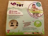 Tidy tot bib and tray