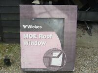 Roof Window 780mm x 980mm. New in original box. 20mm double glazing. With Means of Escape