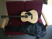 Acoustic Guitar and case priced for quick sale as moving