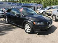 2007 VOLVO C30 S DIESEL BLACK LOW MILEAGE LONG MOT CHEAP FULL SERVICE HISTORY