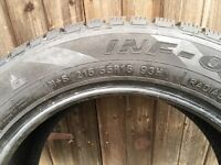 FOUR AS NEW TYRES 215X55X16