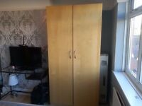 Ikea Pax single wardrobe