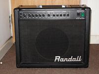 Guitar Amp ALL VALVE Randall RG50TC 50w - Excellent!