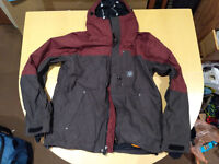 Unworn Mission Six Deep Six ski/snowboard/winter medium sized jacket for sale