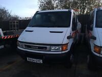 IVECO DAILY 65C15 CREW CAB RECOVERY TRUCK VEHICLE SPEC LIFT J&J CONVERSIONS