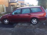 Ford Focus Zetec Estate Tdi 1.8