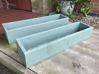 New Wood Planter Trough (2 available)