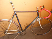 vintage mercian fixie bicycle