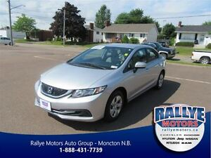 2014 Honda Civic LX! Keyless! Heated! Save!