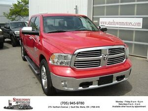 2015 Ram 1500 Bighorn 4x4 Crew|6.5 Box|Reverse Camera|Power Seat