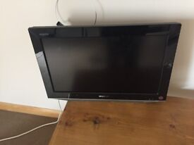 Sharp Aquos 19 inch wall mount colour television