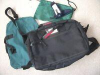 Laptop Bag + 2 sport bags