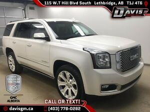 Used 2015 GMC Yukon 4WD Denali-Navigation,Wireless Charging