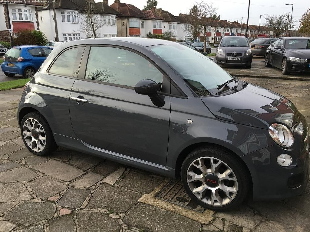 fiat 500 sport grey with low mileage 1 owner and excellent condition in barnet london gumtree. Black Bedroom Furniture Sets. Home Design Ideas