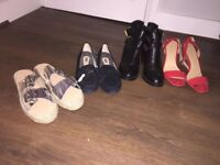 Collection of women's shoes 8/8.5