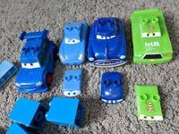 Megabloks Random bricks from Disney Cars incl Doc Hudson, Chick Hicks & Sally Lego Duplo Compatible