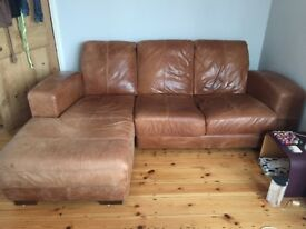 3 seater gorgeous sofa with chaise longue