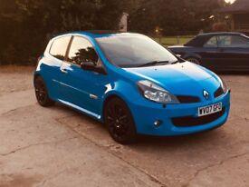Clio 197 racing blue