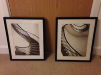 Set of 2 IKEA Staircase Pictures