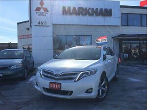 2014 Toyota Venza Limited AWD V6 with Navi & remote start