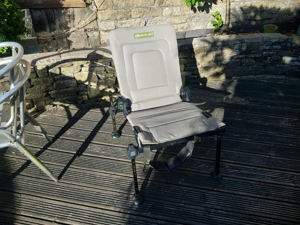 Awe Inspiring Korum Standard Folding Chair In Hadfield Derbyshire Gumtree Ocoug Best Dining Table And Chair Ideas Images Ocougorg