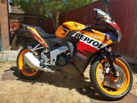 Honda CBR 125 - Repsol (2012), Good Condition