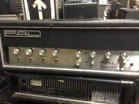 Fal Super 100 PA Amp vintage