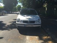 VW polo for sell 2002 reg (new shape) very long MOT, drives well.