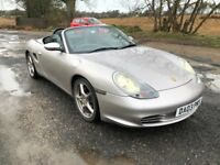 03 PORSCHE BOXSTER 2.7 986 TIPTRONIC S AUTO FULL LEATHER JUST MOT AND SERVICED AT PORSCHE PX SWAPS