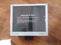 """Acer 17"""" lcd flat screen monitor"""