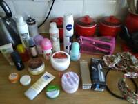 Hair & beauty products