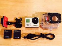 GoPro HERO3 Silver Edition 11.0MP Action Camera-1080p (+32gb Micro SD Card)