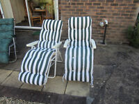 4 recling chairs ingoog condition
